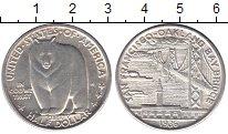Изображение Монеты США 1/2 доллара 1936 Серебро UNC- Мост  Сан Франциско