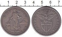 Изображение Монеты Филиппины 1 песо 1909 Серебро XF
