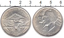 Изображение Монеты США 1/2 доллара 1936 Серебро UNC- 50 - летие  Арканзас