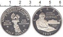 Изображение Монеты США 1/2 доллара 1993 Серебро Proof