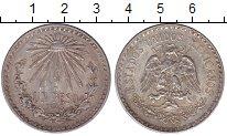 Изображение Монеты Мексика 1 песо 1943 Серебро XF