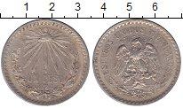 Изображение Монеты Мексика 1 песо 1924 Серебро XF