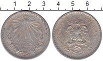 Изображение Монеты Мексика 1 песо 1923 Серебро XF