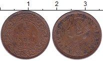 Изображение Монеты Индия 1/12 анны 1878 Медь XF+