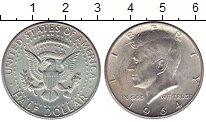 Изображение Монеты США 1/2 доллара 1964 Серебро XF+