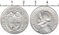 Изображение Монеты Панама 1/4 бальбоа 1947 Серебро XF
