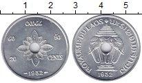 Изображение Монеты Лаос 20 центов 1952 Алюминий UNC-