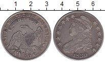 Изображение Монеты США 1/2 доллара 1830 Серебро XF