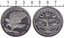Изображение Монеты Маршалловы острова 5 долларов 1991 Медно-никель Proof `Операция ``Буря в п