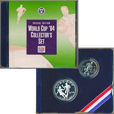 Изображение Подарочные наборы США Чемпионат мира по футболу 1994 года 1994  Proof