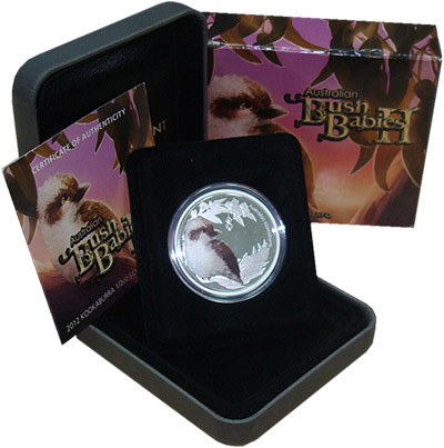 Изображение Подарочные монеты Австралия Зверята Австралийского буша 2012 Серебро Proof