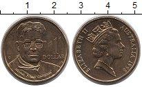 Изображение Монеты Австралия 1 доллар 1998 Латунь XF