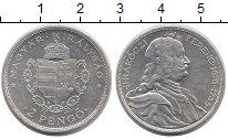 Изображение Монеты Венгрия 2 пенго 1935 Серебро XF