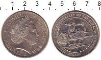 Изображение Монеты Великобритания Гернси 5 фунтов 1998 Медно-никель XF