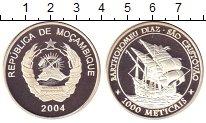 Изображение Монеты Мозамбик 1000 метикаль 2004 Серебро Proof