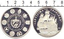 Изображение Монеты Куба 10 песо 2002 Серебро Proof