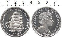 Изображение Монеты Остров Мэн 1 крона 2003 Серебро Proof