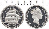 Изображение Монеты Острова Кука 5 долларов 2006 Серебро Proof