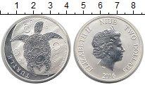 Изображение Монеты Ниуэ 2 доллара 2016 Серебро UNC