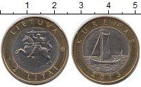 Изображение Монеты Литва Литва 2013 Биметалл XF