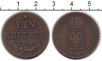 Изображение Монеты Австрия 1 крейцер 1816 Медь XF