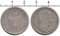 Изображение Монеты Австрия 1/4 флорина 1860 Серебро XF Франц  Иосиф I