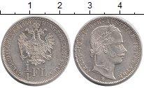 Изображение Монеты Австрия 1/4 флорина 1859 Серебро XF