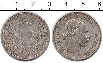 Изображение Монеты Австрия 1 флорин 1888 Серебро XF