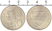 Изображение Монеты Австрия 10 шиллингов 1972 Серебро XF+