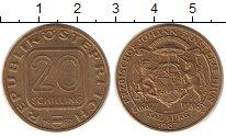 Изображение Монеты Австрия 20 шиллингов 1987 Латунь UNC-