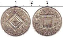 Изображение Монеты Австрия 1/2 шиллинга 1925 Серебро XF