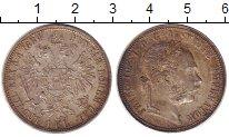 Изображение Монеты Австрия 1 флорин 1884 Серебро XF