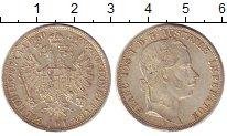 Изображение Монеты Австрия 1 флорин 1860 Серебро XF
