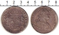 Изображение Монеты Мексика 8 реалов 1804 Серебро XF