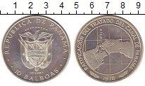 Изображение Монеты Панама 10 бальбоа 1978 Серебро UNC