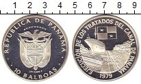 Изображение Монеты Панама 10 бальбоа 1979 Серебро Proof