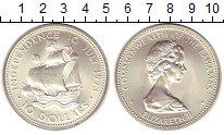 Изображение Монеты Багамские острова 10 долларов 1973 Серебро UNC-