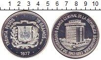 Изображение Монеты Доминиканская республика 30 песо 1977 Серебро Proof