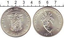 Изображение Монеты Панама 5 бальбоа 1972 Серебро UNC