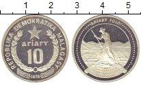Изображение Монеты Мадагаскар 10 ариари 1978 Серебро Proof