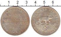 Изображение Монеты Анхальт-Бернбург 1 талер 1861 Серебро XF+ Александр  Карл