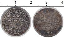 Изображение Монеты Германия Брауншвайг-Люнебург-Каленберг-Ганновер 1/24 талера 1733 Серебро VF