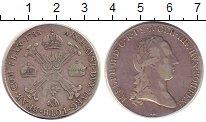 Изображение Монеты Нидерланды 1/2 талера 1788 Серебро XF- Австрийские Нидерлан