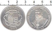 Изображение Монеты Андорра 25 динерс 1963 Серебро Proof-