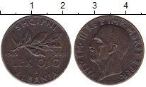 Изображение Монеты Албания 0,10 лек 1940 Латунь XF