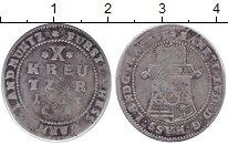 Изображение Монеты Гессен-Дармштадт 10 крейцеров 1733 Серебро VF