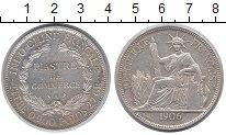 Изображение Монеты Индокитай 1 пиастр 1906 Серебро XF