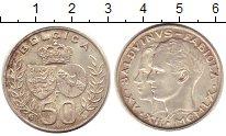 Изображение Монеты Бельгия 50 франков 1960 Серебро XF