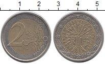 Изображение Монеты Франция 2 евро 2001 Биметалл UNC-