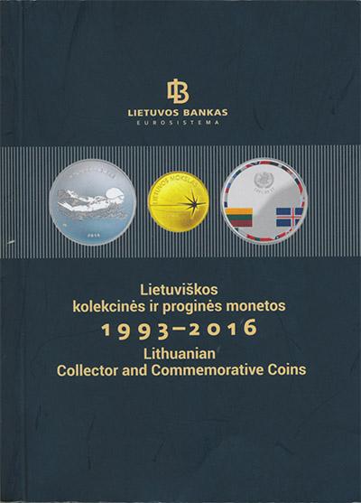 Картинка Книги о монетах Нумизматика Каталог монет банка Литвы 1993-2016гг,  0
